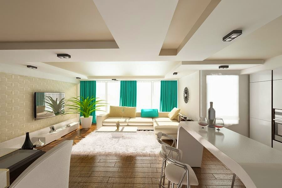 Design interior apartament modern open space - Servicii Design Interior - Amenajari Interioare
