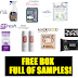 Free Samplesource Box Full of Samples: Made Good Granola Bars,  Bona Wood Floor Cleaner, Carefree Breathe Pads, Better Not Younger Shampoo and Conditioner, Royal Canine Pet Food, Litter Genie Cat Litter Disposal, Dude Wipes, Rephresh Feminine Gel, Kabrita Baby Formula and More!