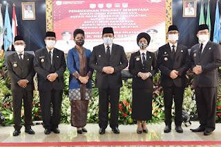 Gubernur Herman Deru Resmi Kukuhkan 5 Pjs Bupati