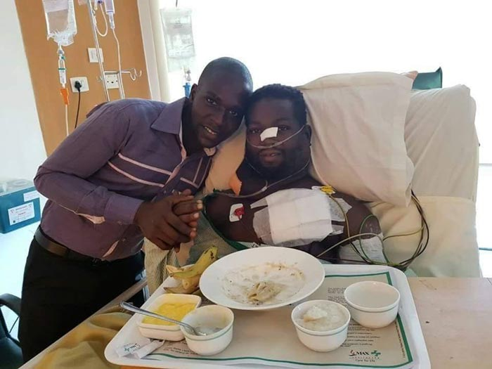 Paul Arisa Recuperating In Indian Hospital After Donations From Abia State Govt And Other Nigerians
