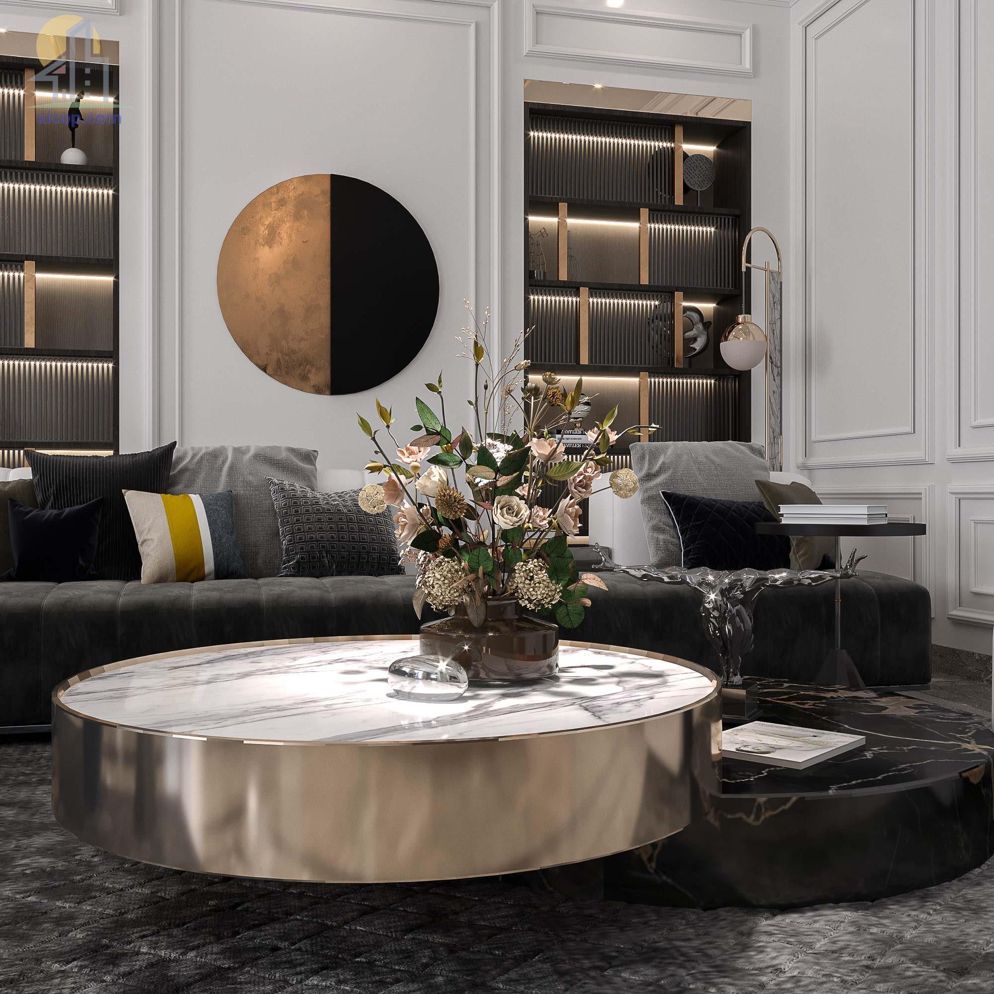 Mẫu nội thất chung cư đẹp các mẫu thiết kế hiện đại đơn giản 19