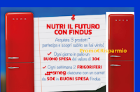 """Concorso """"Nutri il futuro con Findus"""" : vinci 122 Gift Card da 30 euro e 36 Frigo Smeg 50's Style"""