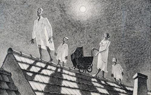 Die Nachtwandler - Franz Sedlacek