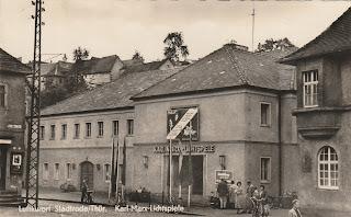 Karl-Marx-Lichtspiele Stadtroda postcard 1960