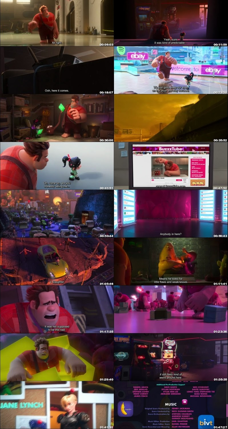 Ralph breaks the Internet || wreck it Ralph 2 Movie in Hindi Download Free