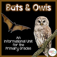 Bats and Owls Informational Unit