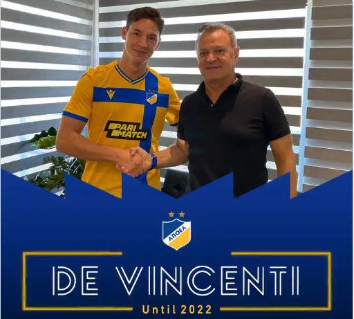SMS: για Tomas De Vincenti