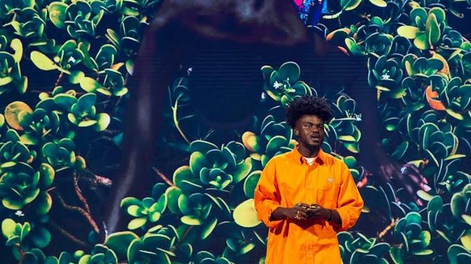 Ghanaian visual artist Prince Gyasi speaks at 2019 Skoll World Forum at Oxford University