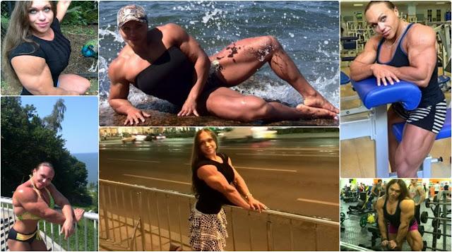 Una de las mujeres con más músculo del mundo