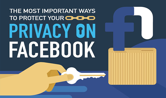 The Most Important Ways to Protect Your Privacy on Facebook #infographic
