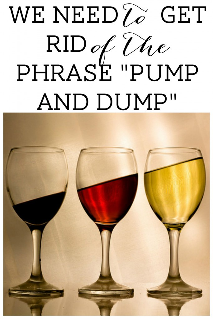 Pump and dump dating