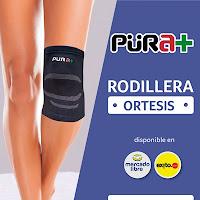 Ortesis Rodillera, Ref. 2518, fabricados con Latex, Talla S-M, de color Negro, 1 Ud, Esguinces Torceduras Fisioterapia.