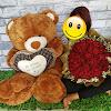 Bunga Boneka Jumbo untuk Valentine