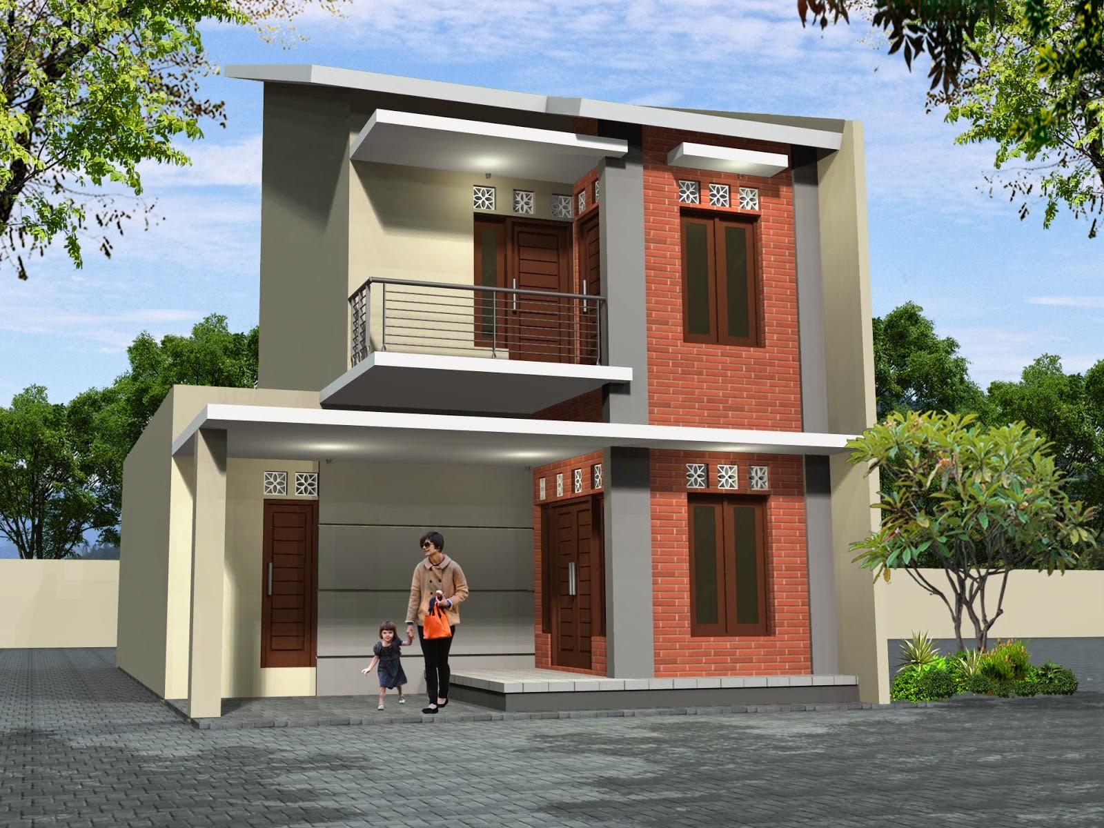 Interior Eksterior Rumah Minimalis Desain Dan Bentuk Rumah