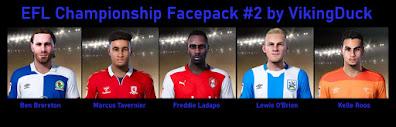 PES 2021 EFL Championship Facepack 2 by VikingDuck13