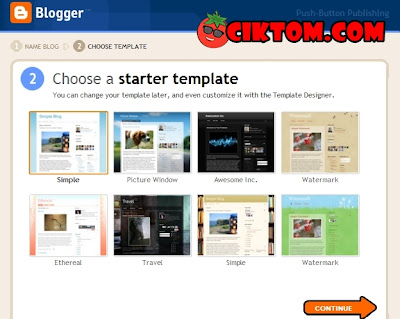 Step 4 buat blog