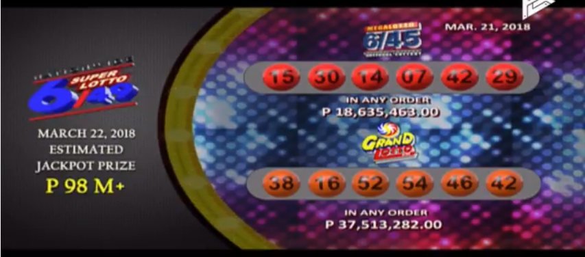 Philippine lotto 6/55 prizes for games