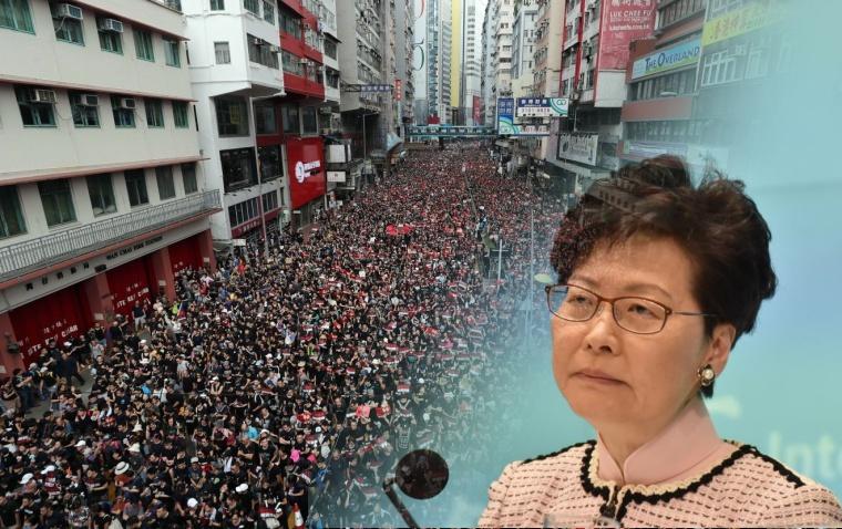 Pemerintah China Tetap Dukung dan Tak Akan Izinkan Carrie Lam Mengundurkan Diri