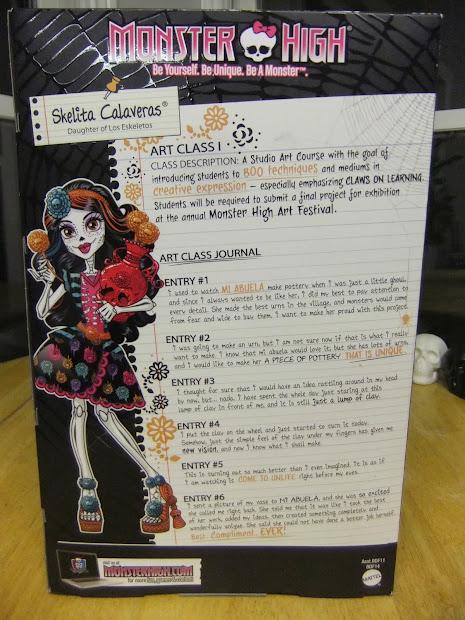 Christina Articulates Art Class Skelita Calaveras