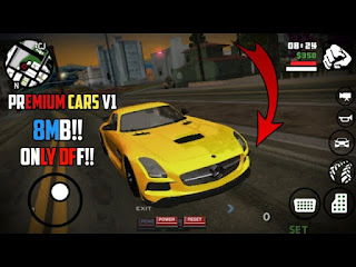PREMIUM CARS PACK V1 IN GTA SA ANDROID || ONLY DFF CARS ||