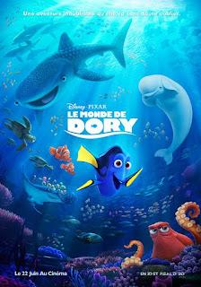 Au cinéma : Le Monde de Dory