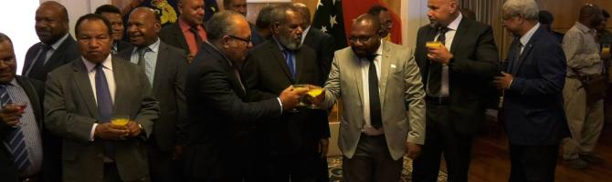 PNG Government intact, says PM O'Neill