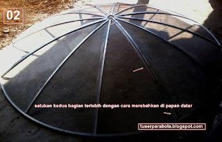 Panduan lengkap Cara pasang Antena Parabola C-Band