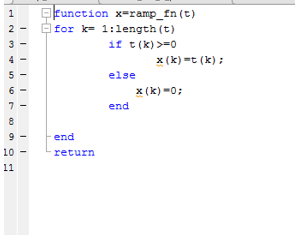 how to create a function in matlab