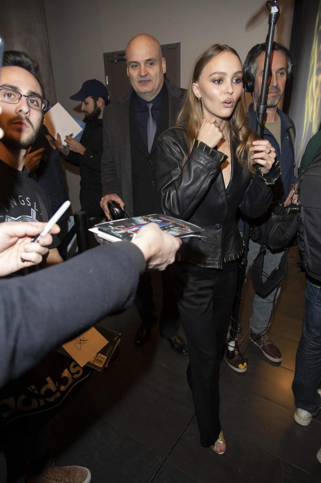 Lily-Rose Depp - 'Les Fauves' Premiere in Paris - 1/17/2019
