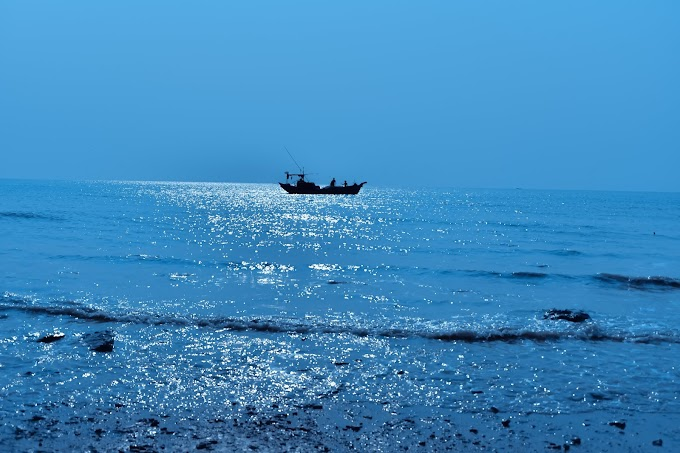 Frasergunj Beach , Bakkhali , West Bengal