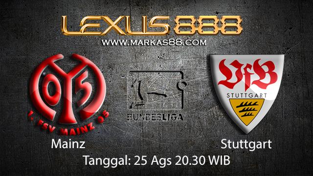 BOLA88 - PREDIKSI BOLA MAINZ VS STUTTGART 25 AGUSTUS 2018 ( GERMAN BUNDESLIGA )
