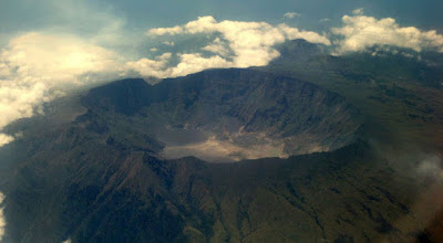 Volcán Monte Tambora