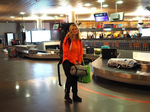 Letiště Oslo, trek, dobrodružství