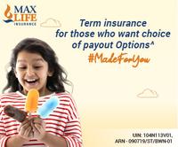 Max Life Term Insurance
