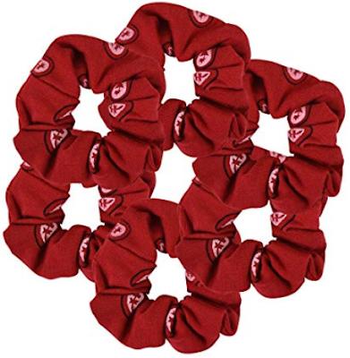 Red Bandana Hair Tie (Hairstyle Updates - www.hairstyleupdates.com)