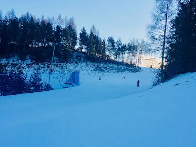 Czorsztyn Ski, góra Wdżar, trasy narciarska nr 1 niebieska