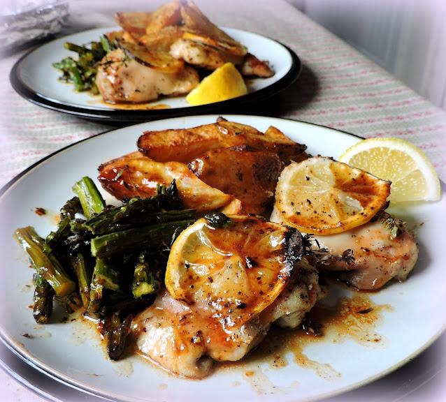 Simple Lemon & Herb Chicken