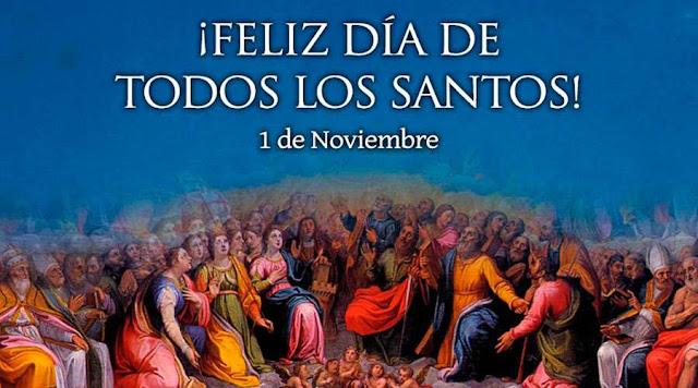 Resultado de imagen de horarios dia de todos los santos