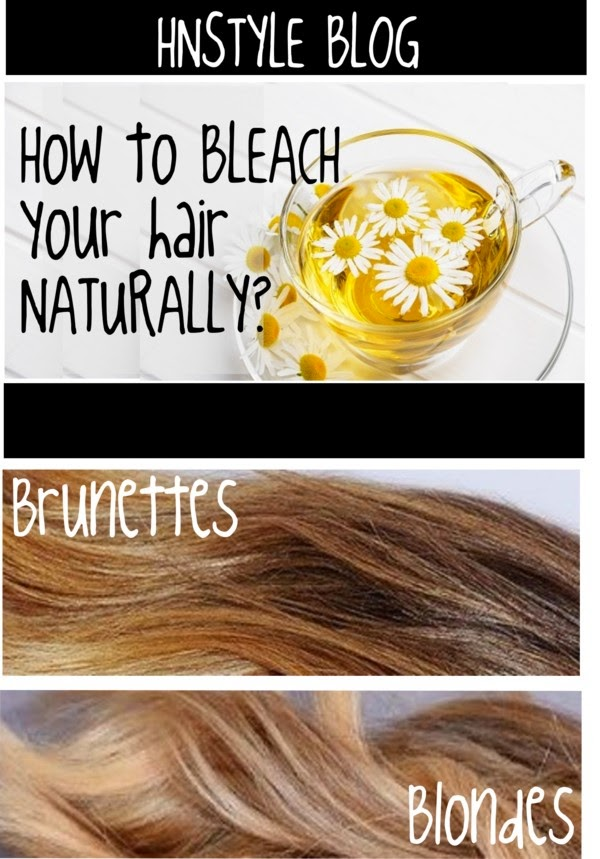 Natural Hair Lightening For Brunettes