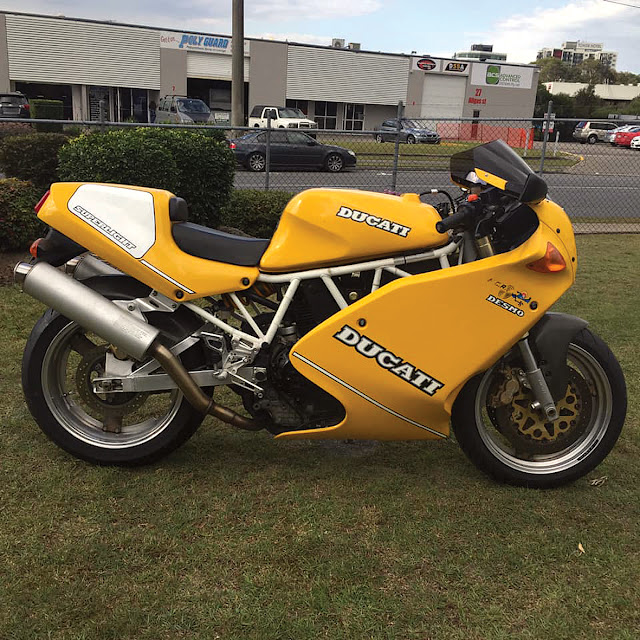 1992 Ducati Superlight Mk 1 No 919 Australia