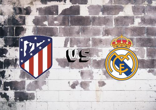 Atlético Madrid vs Real Madrid  Resumen y Partido Completo