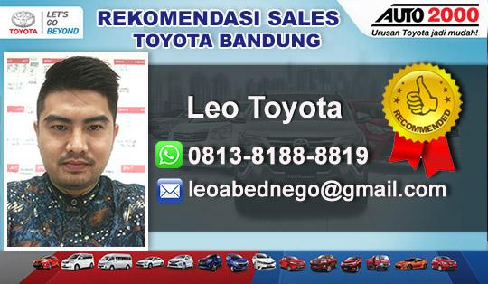 Rekomendasi Sales Toyota Bandung 2017