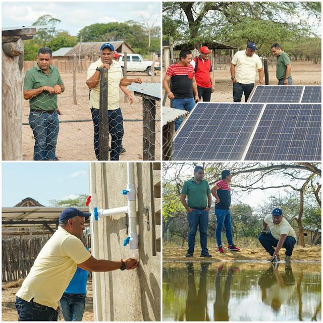 Recorrido por obras en ejecución en el Distrito de Riohacha