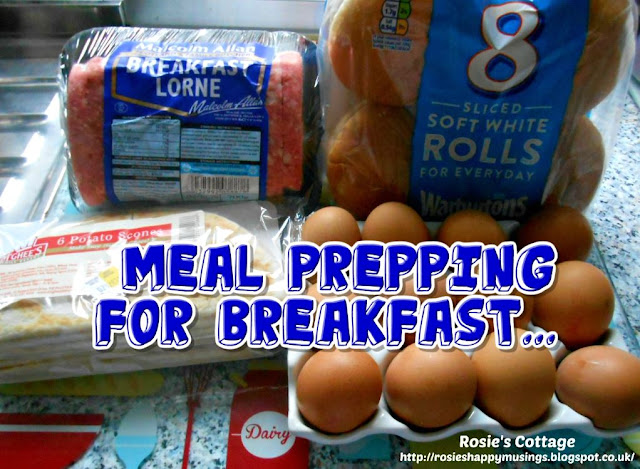 Meal Prepping For Breakfast...