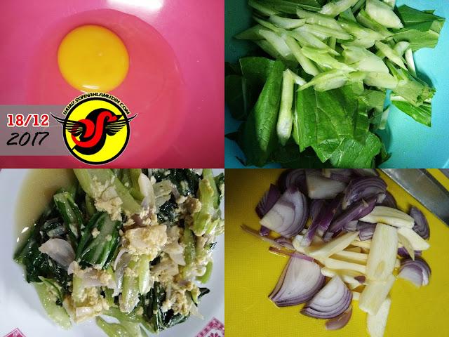 Resepi Sayur Sawi Tumis Simple - Sofinah Lamudin