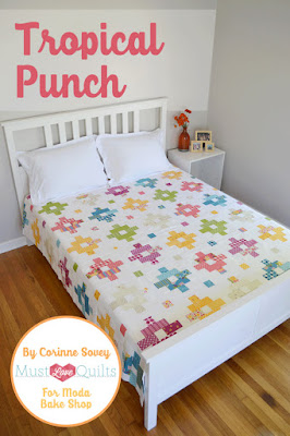 tropical punch quilt pattern