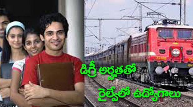 Railway jobs based on Degree