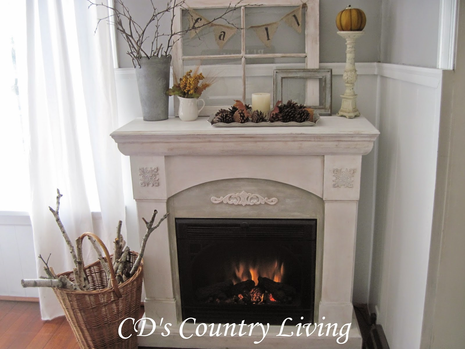 A fireplace makeover i love my new fireplace so much that yesterday afternoon i took a break from work and decided to sit and have a cup of hot cocoa in front of it teraionfo