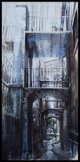Pintura a l'oli d'Aida Mauri,Sant Corneli de Cercs