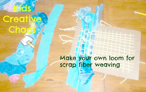 How to weave for elementary make your own loom